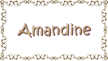 Receptions Amandine