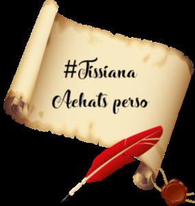 Achats perso Tissiana